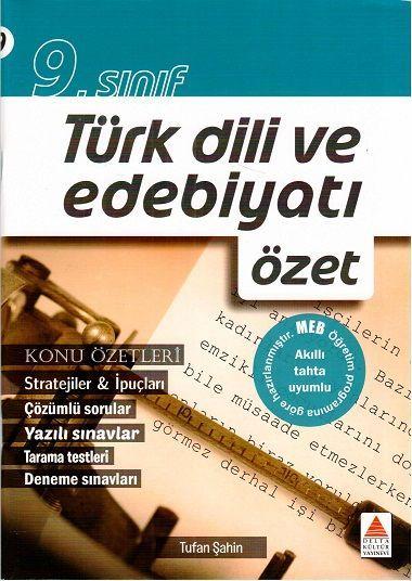 Delta Kültür 9. Sınıf Türk Dili ve Edebiyatı Özet