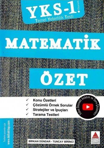 Delta Kültür Yayınları TYT Matematik Özet