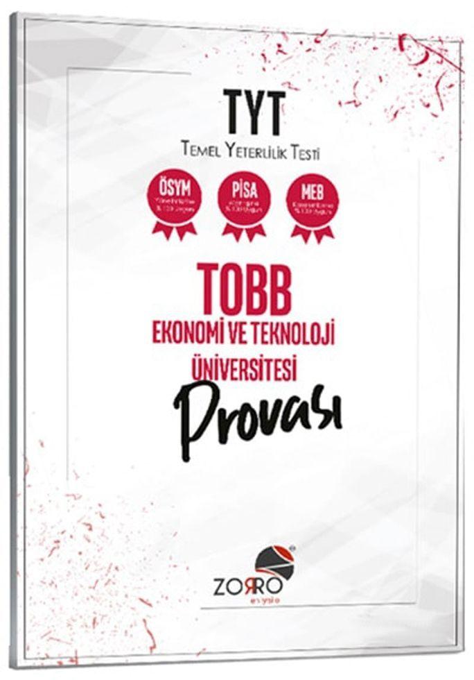DenemeBank TYT TOBB Ekonomi ve Teknoloji Üniversitesi Provası Zorro