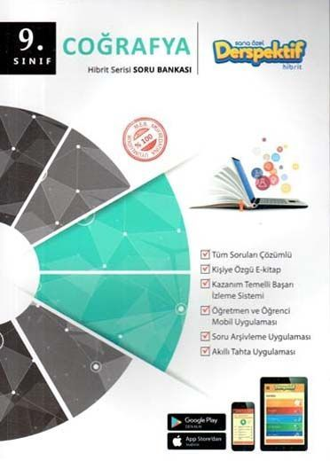 Derspektif Yayınları9. Sınıf Coğrafya Hibbit Serisi Soru Bankası