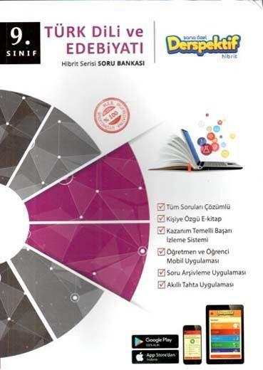 Derspektif Yayınları9. Sınıf Türk Dili ve Edebiyatı Hibbit Serisi Soru Bankası