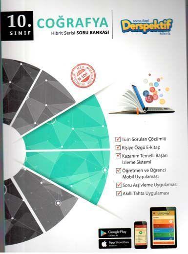 Derspektif Yayınları10. Sınıf Coğrafya Hibbit Serisi Soru Bankası