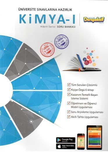 Derspektif YayınlarıÜniversite Sınavlarına Hazırlık Kimya 1 Hibbit Serisi Soru Bankası