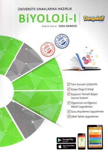 Derspektif YayınlarıÜniversite Sınavlarına Hazırlık Biyoloji 1 Hibbit Serisi Soru Bankası