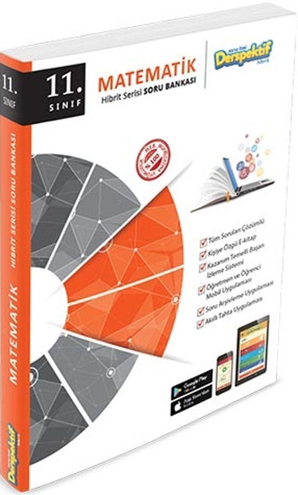 Derspektif Yayınları 11. Sınıf Matematik Hibrit Serisi Soru Bankası