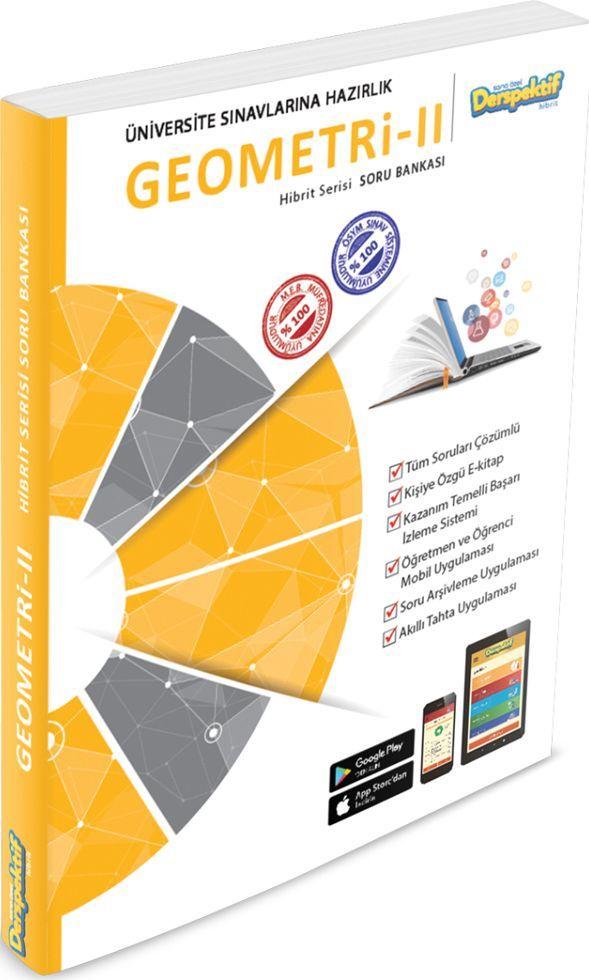 Derspektif Yayınları Üniversite Sınavlarına Hazırlık Geometri 2 Hibrit Serisi Soru Bankası