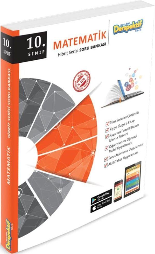 Derspektif Yayınları 10. Sınıf Matematik Hibrit Serisi Soru Bankası