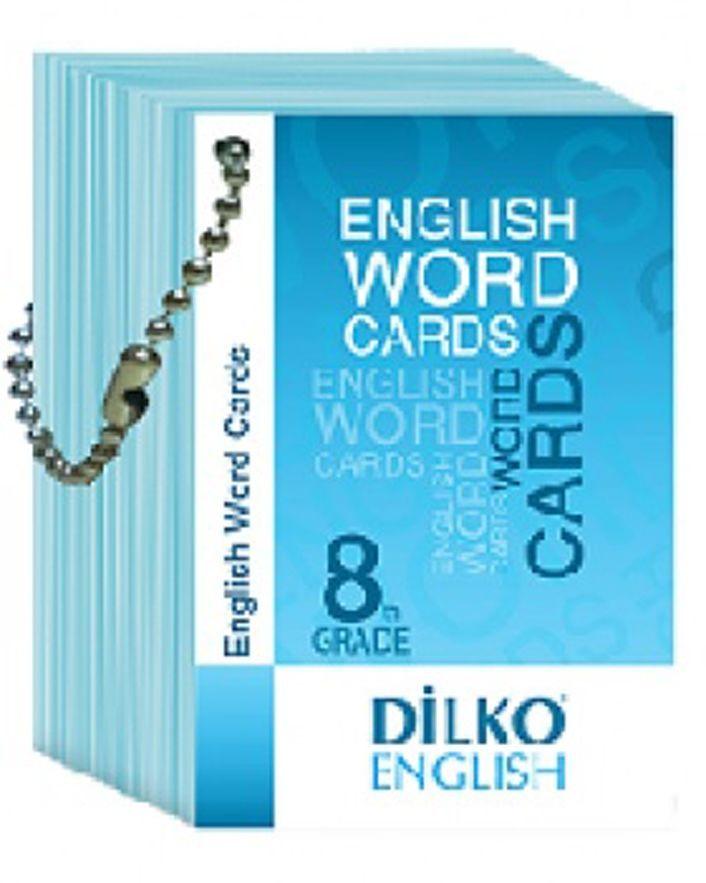 Dilko Yayınları 8. Sınıf Resimli İngilizce Kelime Kartı