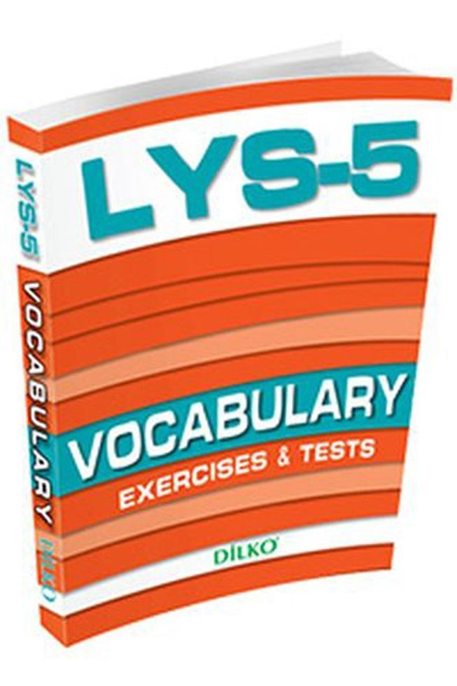 Dilko Yayınları LYS 5 Vocabulary Exercises Tests
