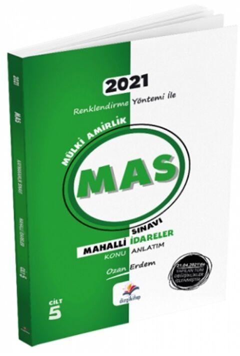 Dizgi Kitap 2021 MAS Kaymakamlık Mahalli İdareler Konu Anlatımı Cilt 5
