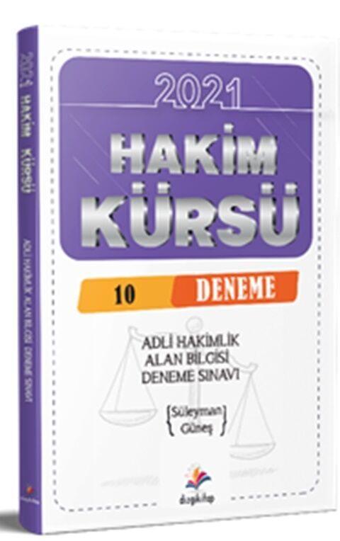 Dizgi Kitap Yayınları Hakim Kürsü Alan Bilgisi Adli Hakimlik 10 Deneme Sınavı