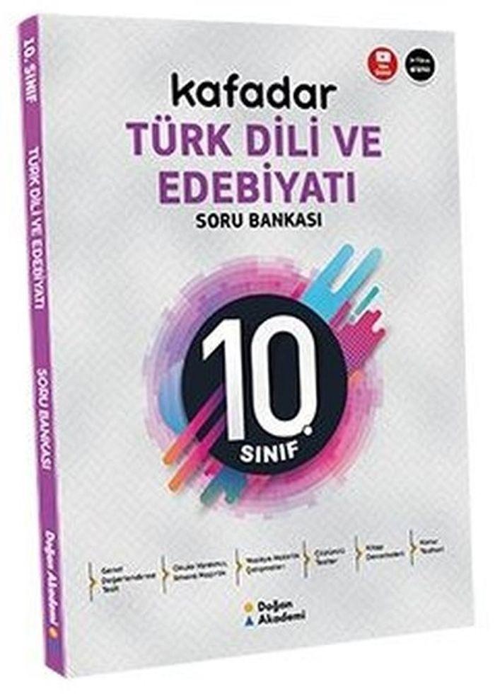 Doğan Akademi 10. Sınıf Türk Dili ve Edebiyatı Kafadar Soru Bankası