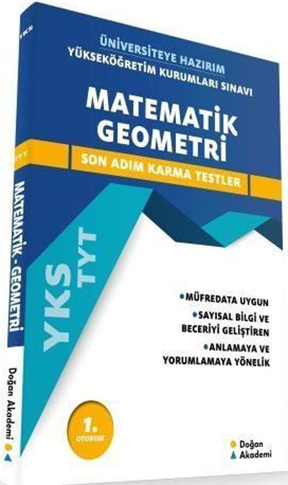 Doğan Akademi TYT Matematik Geometri Son Adım Karma Testler