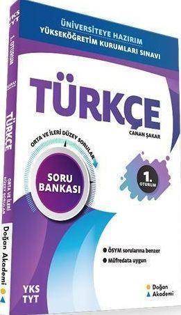 Doğan Akademi TYT Türkçe Soru Bankası Orta İleri Düzey Sorular
