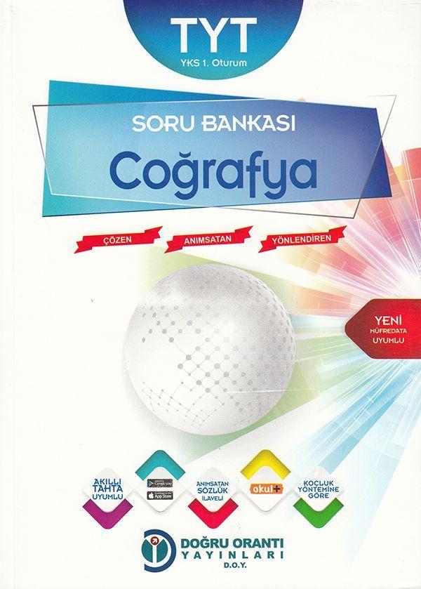 Doğru Orantı Yayınları TYT Coğrafya Soru Bankası