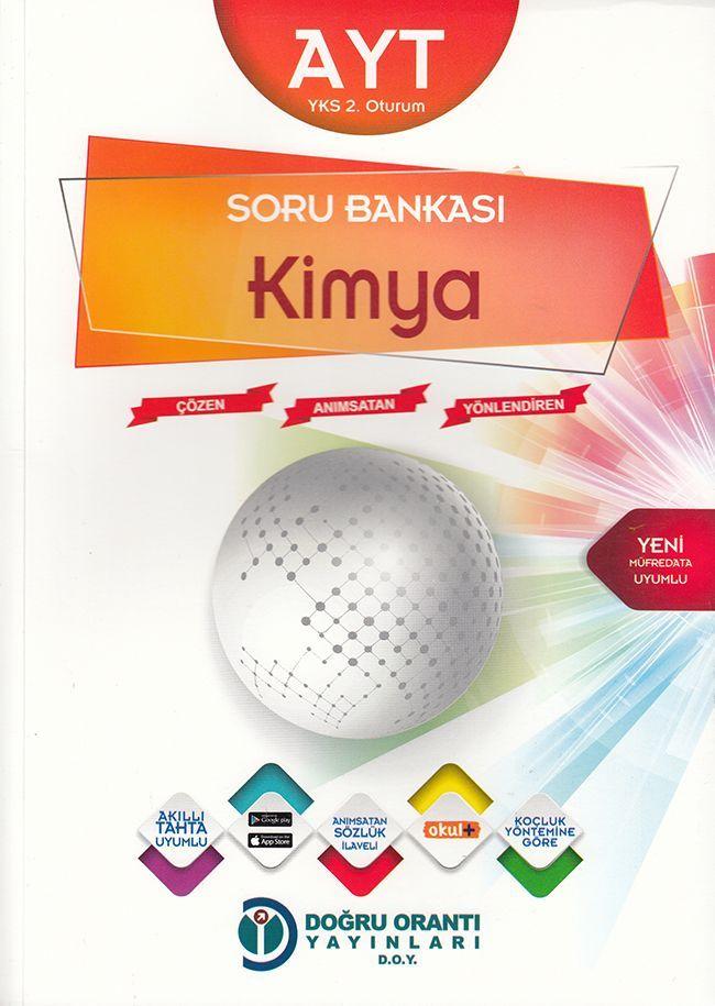 Doğru Orantı Yayınları AYT Kimya Soru Bankası