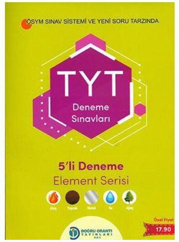 Doğru Orantı Yayınları TYT 5 li Deneme Element Serisi