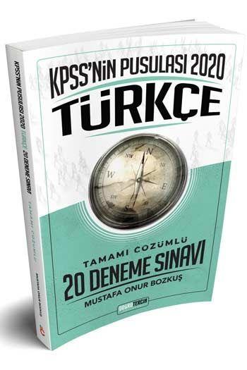 Doğru Tercih Yayınları 2020 KPSS nin Pusulası Türkçe Tamamı Çözümlü 20 Deneme