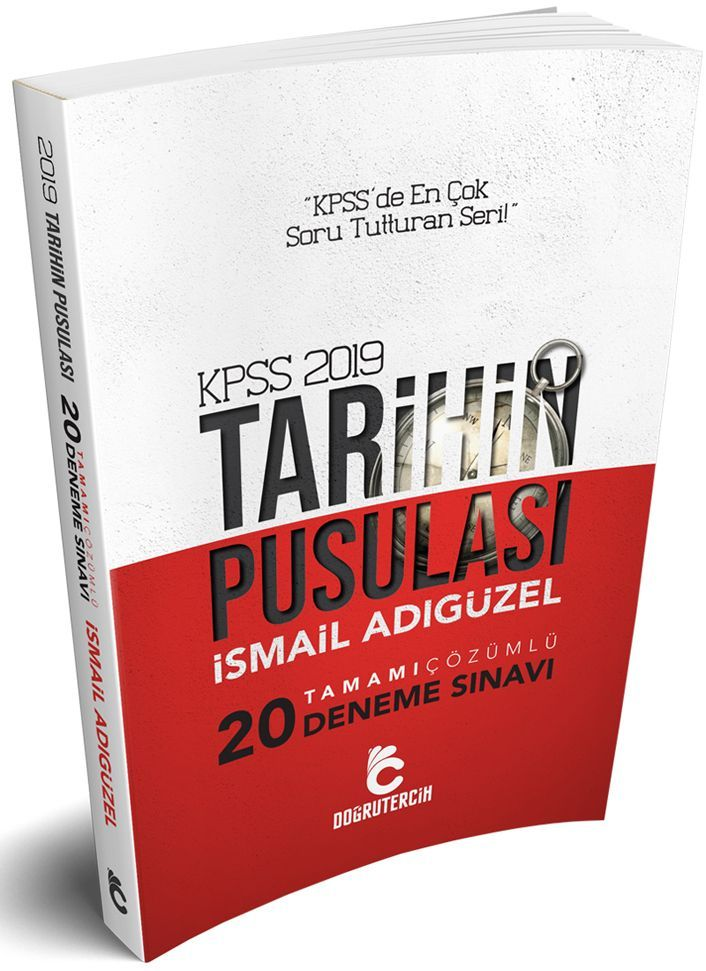 Doğru Tercih Yayınları 2018 KPSS Tarihin Pusulası Tamamı Çözümlü 20 li Tarih Denemesi
