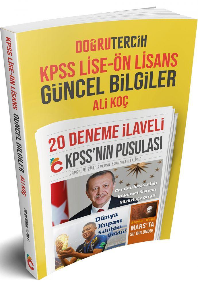 Doğru Tercih Yayınları KPSS Lise Önlisans Güncel Bilgiler