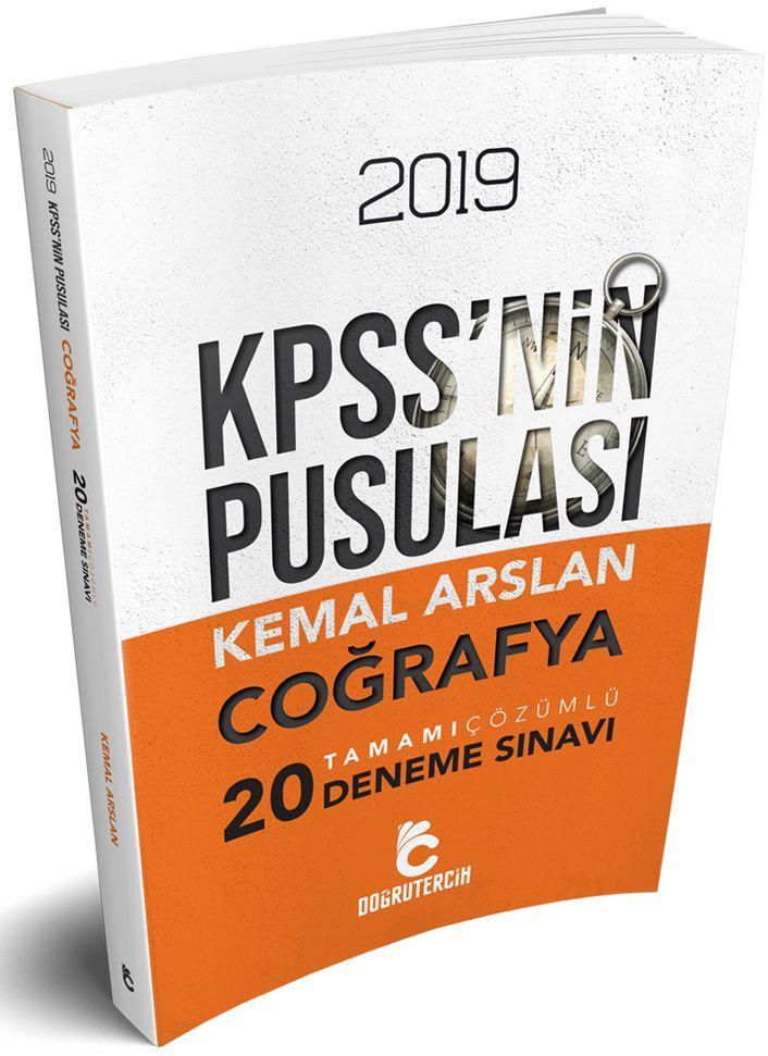 Doğru Tercih Yayınları 2019 KPSSnin Pusulası Coğrafya Tamamı Çözümlü 20 Deneme
