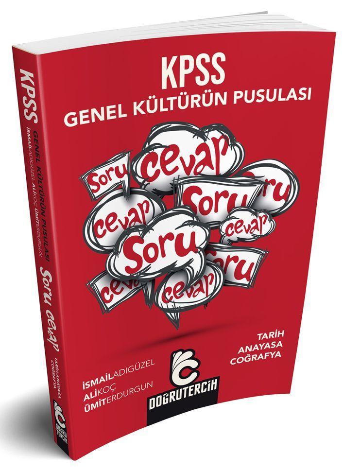 Doğru Tercih Yayınları KPSS Genel Kültürün Pusulası Soru Cevap Kitabı
