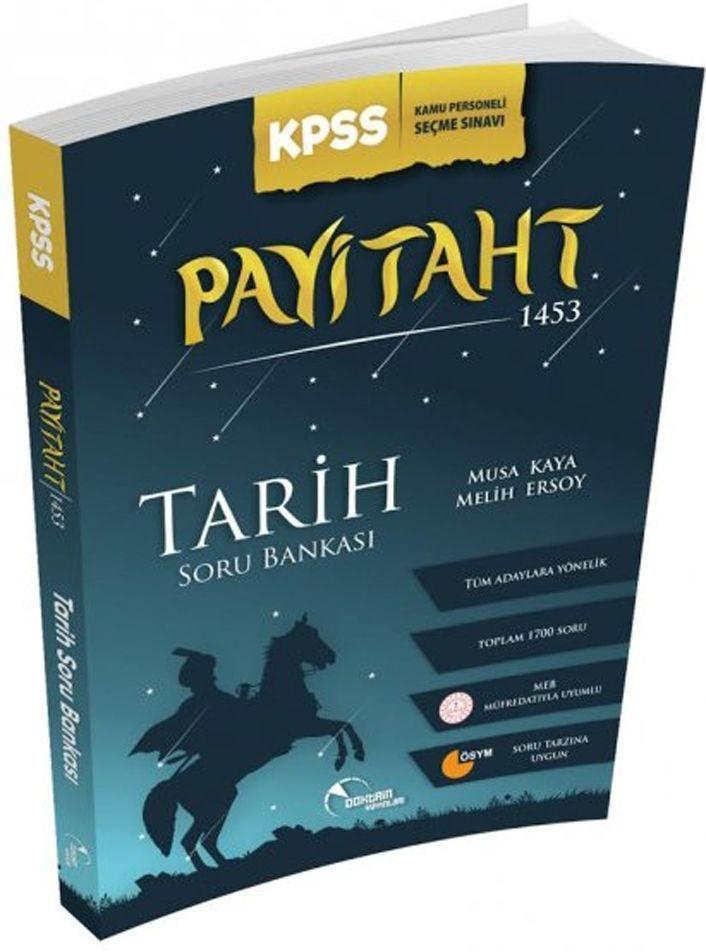 Doktrin Yayınları KPSS Tarih Payitaht 1453 Örnek Çözümlü Soru Bankası