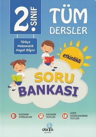 Dorya Yayınları 2. Sınıf Tüm Dersler Soru Bankası