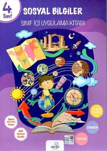 Dorya Yayınları 4. Sınıf Sosyal Bigiler Sınıf İçi Uygulama Kitabı