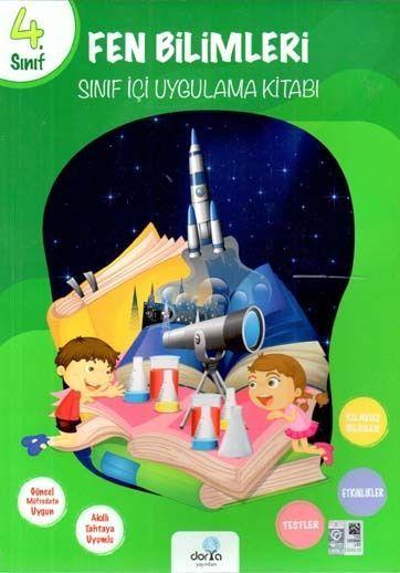 Dorya Yayınları 4. Sınıf Fen Bilimleri Sınıf İçi Uygulama Kitabı