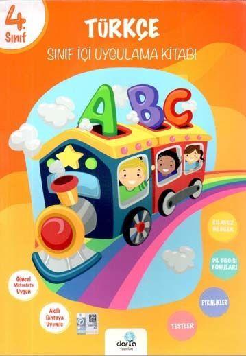 Dorya Yayınları 4. Sınıf Türkçe Sınıf İçi Uygulama Kitabı