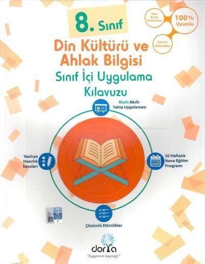Dorya Yayınları 8. Sınıf Din Kültürü ve Ahlak Bilgisi Sınıf İçi Uygulama Kılavuzu