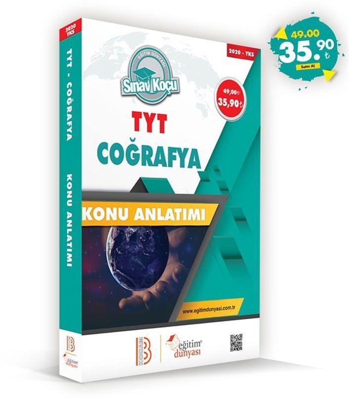 Eğitim Dünyası Yayınları TYT Coğrafya Sınav Koçu Konu Anlatımı