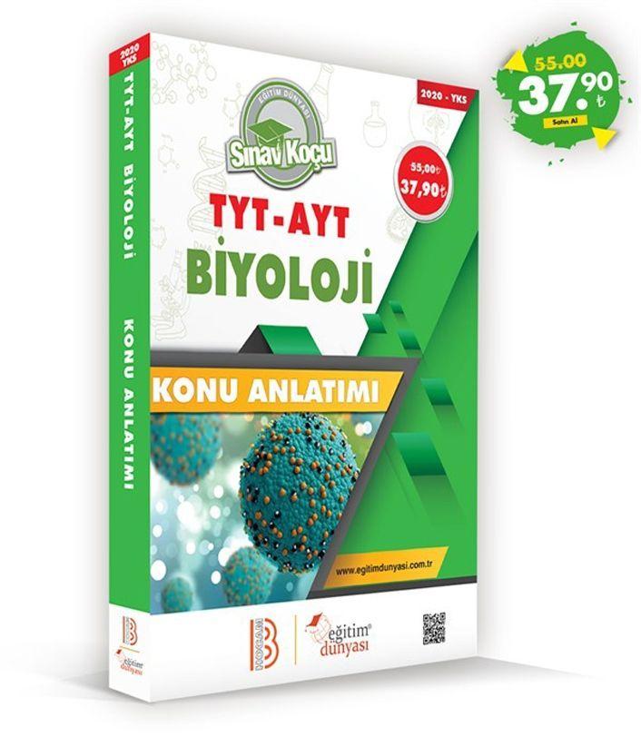Eğitim Dünyası Yayınları TYT AYT Biyoloji Sınav Koçu Konu Anlatımı