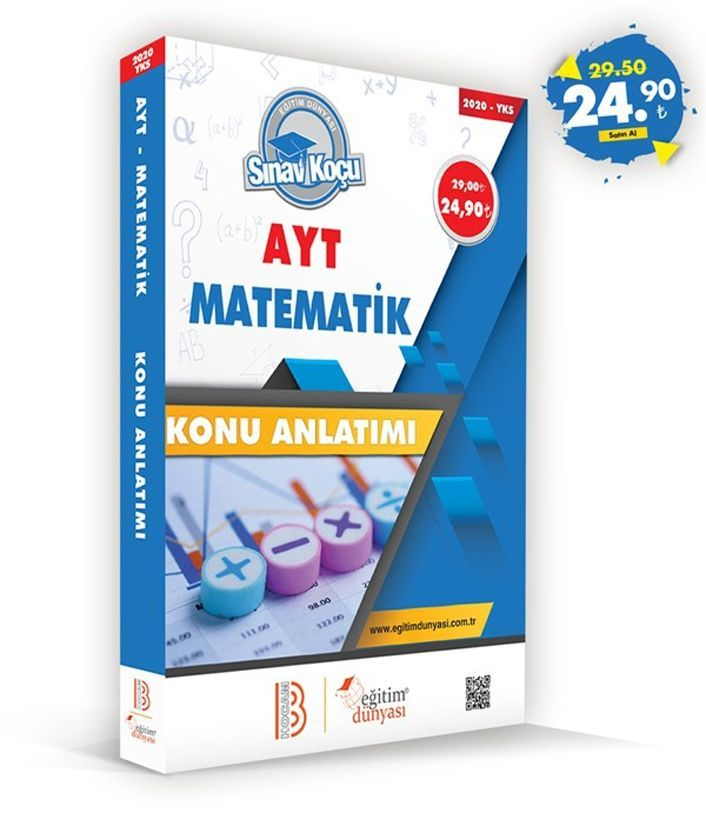 Eğitim Dünyası Yayınları AYT Matematik Sınav Koçu Konu Anlatımı