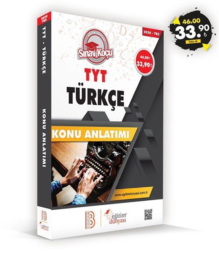 Eğitim Dünyası Yayınları TYT Türkçe Sınav Koçu Konu Anlatımı
