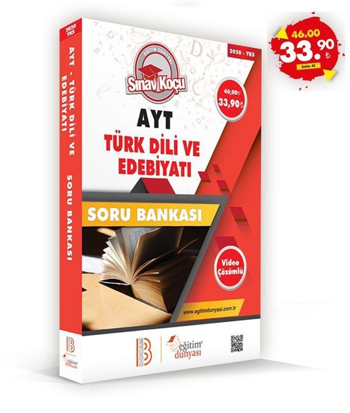 Eğitim Dünyası Yayınları AYT Türk Dili ve Edebiyatı Sınav Koçu Soru Bankası