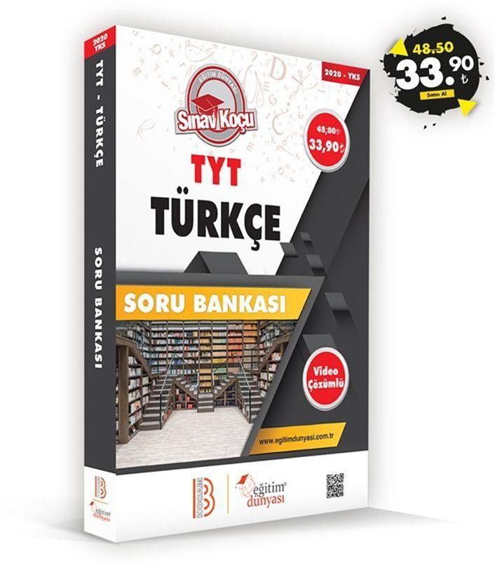 Eğitim Dünyası Yayınları TYT Türkçe Sınav Koçu Soru Bankası