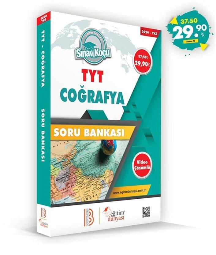 Eğitim Dünyası Yayınları TYT Coğrafya Sınav Koçu Soru Bankası
