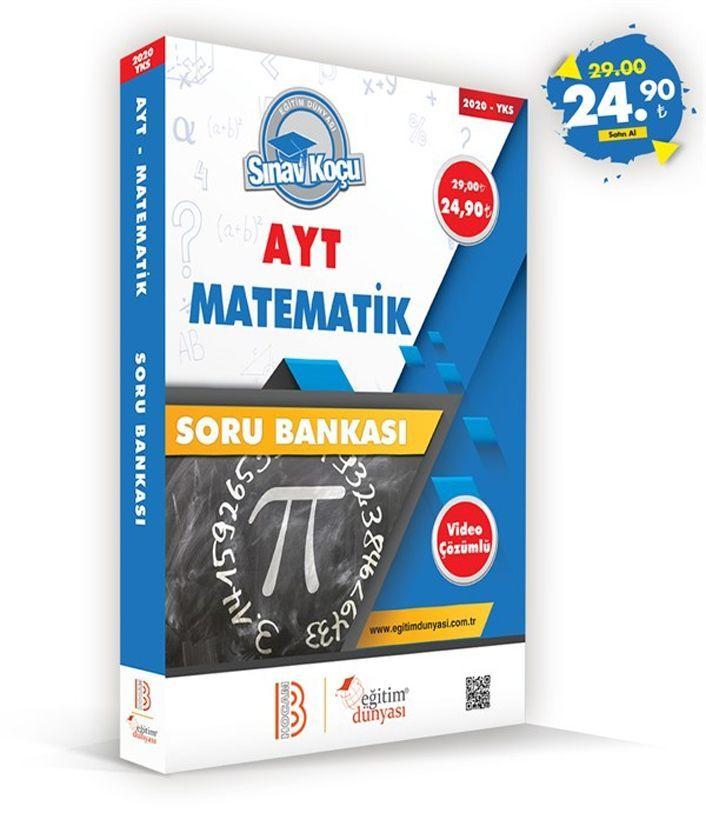 Eğitim Dünyası Yayınları AYT Matematik Sınav Koçu Soru Bankası