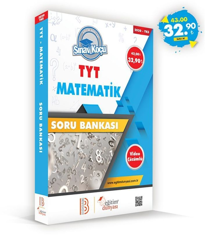 Eğitim Dünyası Yayınları TYT Matematik Sınav Koçu Soru Bankası