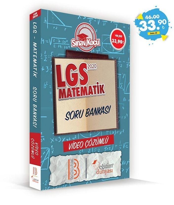 Eğitim Dünyası Yayınları LGS Matematik Sınav Koçu Soru Bankası