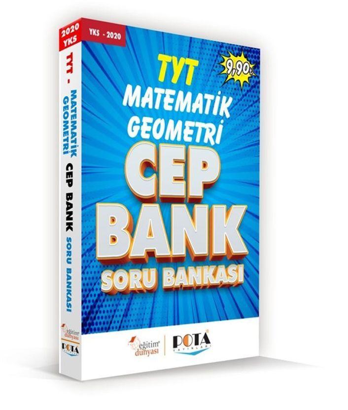 Eğitim Dünyası Yayınları TYT Matematik Geometri Cep Bank Soru Bankası