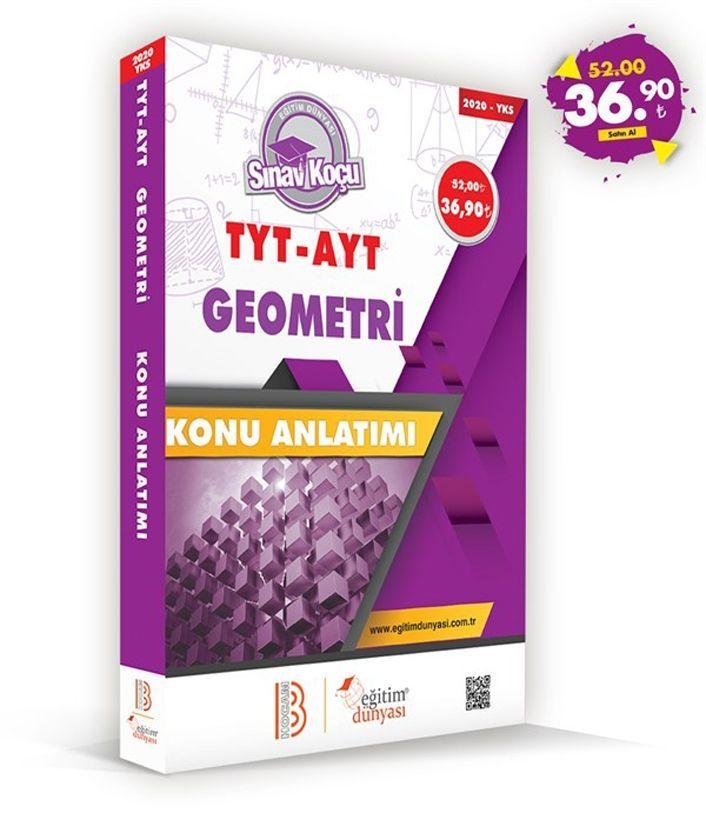 Eğitim Dünyası Yayınları TYT AYT Geometri Sınav Koçu Konu Anlatımı