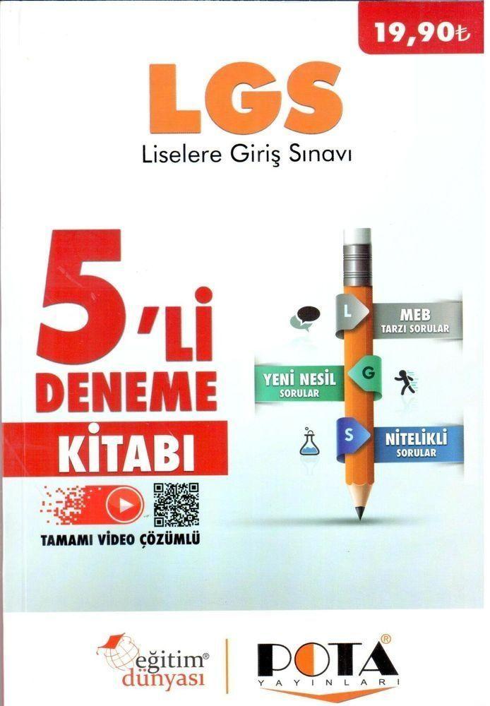 Eğitim Dünyası Yayınları LGS 5 li Deneme Sınavı