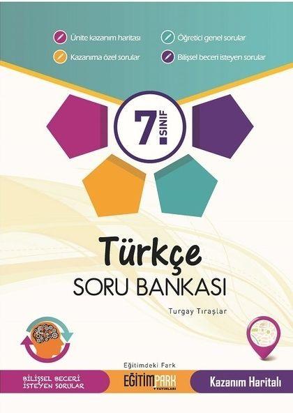 Eğitim Park Yayınları 7. Sınıf Türkçe Soru Bankası