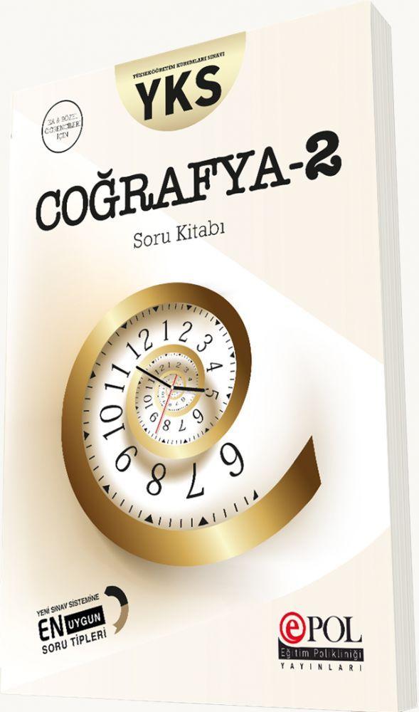 Eğitim Polikliniği Yayınları YKS Coğrafya 2 Soru Kitabı