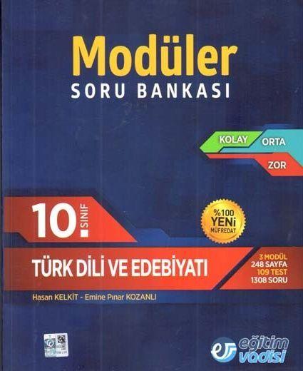 Eğitim Vadisi 10. Sınıf Türk Dili ve Edebiyatı Modüler Soru Bankası