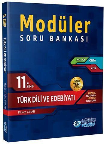 Eğitim Vadisi 11. Sınıf Türk Dili ve Edebiyatı Modüler Soru Bankası