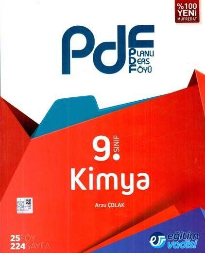 Eğitim Vadisi 9. Sınıf Kimya PDF Planlı Ders Föyü